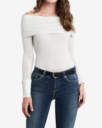 Express 1.State Off The Shoulder Sweater
