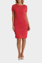 Layer Lace Shift Dress With Sleeve
