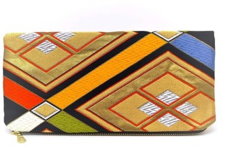 Friends That Rhyme Stained Glass - Handmade Foldover Clutch Purse
