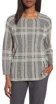 Eileen Fisher Women's Plaid Tencel & Wool Boxy Sweater