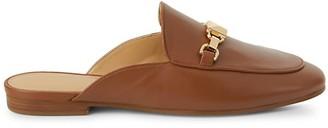 MICHAEL Michael Kors Charlton Leather Loafer Mules