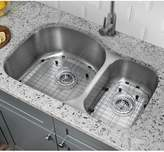 "Soleil 31.5"" L x 20.5"" W Double Bowl Kitchen Sink Soleil"