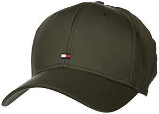 Tommy Hilfiger Men's Bb Cap Tailored-Recycled Nylon Baseball,One (Size:)