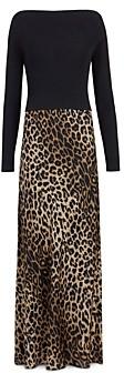 AllSaints Hera Leopard Print Dress