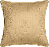 "Dransfield and Ross Giselle Quilted Pillow, 18""Sq."