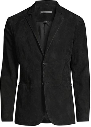 John Varvatos Slim-Fit Suede Jacket