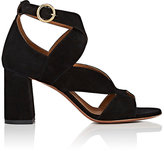 Chloé Women's Graphic Leaves Suede Sandals
