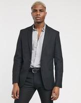 Celio suit jacket in black
