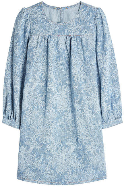 Marc Jacobs Printed Denim Dress