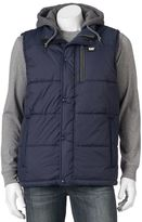 Caterpillar Men's Hooded Work Vest