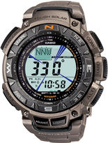 Casio Pro Trek Mens Triple Sensor Multifunction Titanium Watch PAG240T-7CR