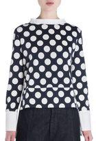 Marni Polka Dot Button Back Top