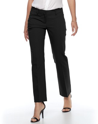 Apt. 9 Petite Torie Modern Fit Straight-Leg Dress Pants