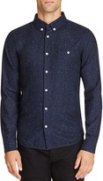 NATIVE YOUTH Encode Speckle Slim Fit Button-Down Shirt