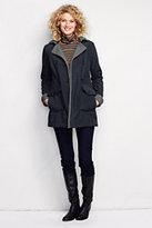 Classic Women's Bonded Fleece Parka-Soft Magenta
