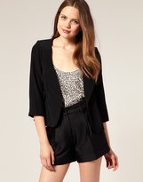 Luxe Cropped Blazer