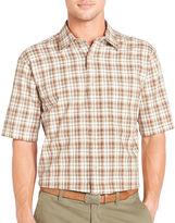 Arrow Short-Sleeve Corded Plaid Shirt