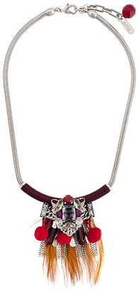 Radà Feather Pendant Necklace