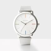 Paul Smith Men's Silver 'Ma' Watch