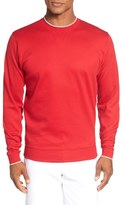 Bobby Jones 'Walker' Tipped Pima Cotton Long Sleeve T-Shirt