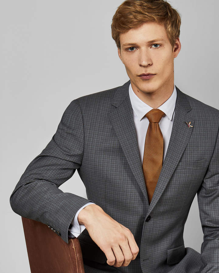 Ted Baker COLMANJ Sterling small check jacket