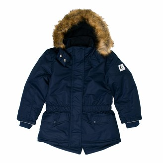 Salt&Pepper Salt and Pepper Girls' Parka Kapuze mit Fellbesatz Jacket