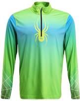 Spyder Limitless Zip Dry Web Sports Shirt Black