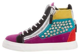 Giuseppe Zanotti Spike High-Top Sneakers
