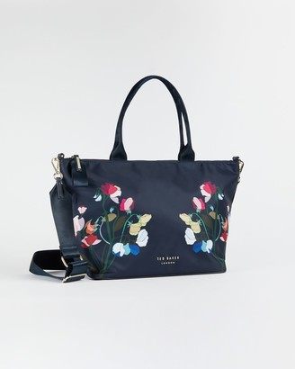Ted Baker Peppermint Small Nylon Tote