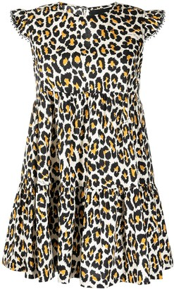 Marc Jacobs Animal Print Tent Dress