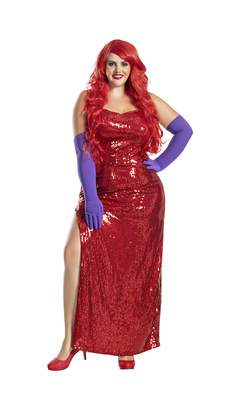 Party King Women's Plus Size Toon Starlet