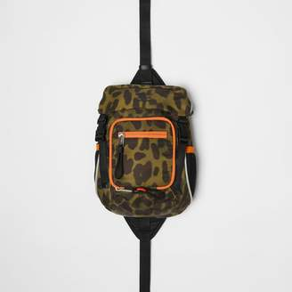 Burberry Animal Print Nylon Leo Belt Pack