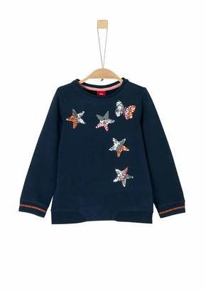 S'Oliver Girl's 53.911.41.2258 Sweatshirt