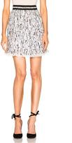 Carven Printed Georgette Skirt