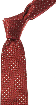Canali Red Dots Silk Tie