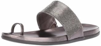 Kenneth Cole Reaction Women's Slim Tracks 2 Toe Loop Flat Sandal