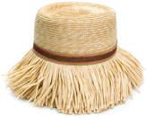 Ermanno Scervino fringed woven hat