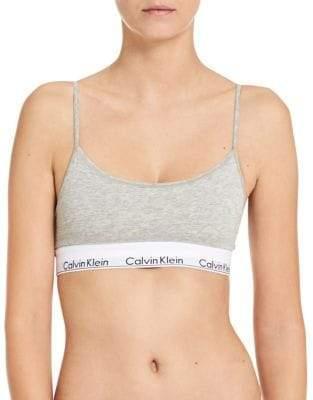 Calvin Klein Modern Cotton Skinny Strap Bralette