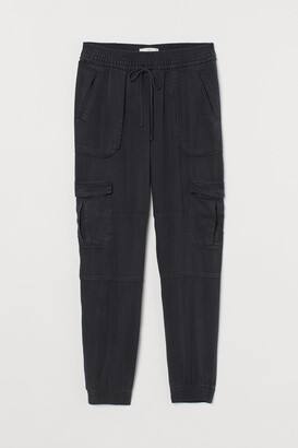 H&M Lyocell Utility Joggers