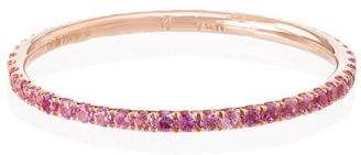 Ileana Makri 18kt Rose Gold Sapphire Ring