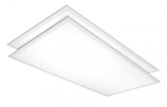 Nuvo Lighting 4' x 2' LED Flat Panel Light (Set of 2 Bulb Color Temperature: 3500K