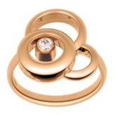 Chopard Happy Dreams Diamond & 18K Rose Gold Ring