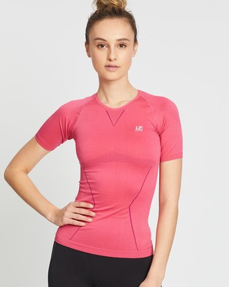 LP Support - Women's Pink all compression - Air Compression Long Sleeve Top - Size One Size, S at The Iconic