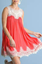 Umgee USA Abigail Dress Coral