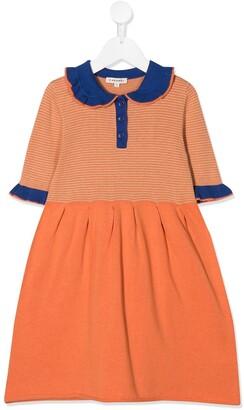 Caramel Portobello cotton dress