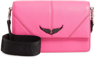 Zadig & Voltaire Lolita Pebbled Leather Crossbody Bag