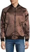 Calvin Klein Men's Full-Zip Metallic Jacket