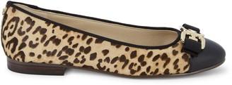 Sam Edelman Mage Leopard Cow Hair Flats