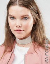Asos Wide Jersey Choker Necklace