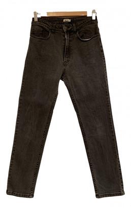 Brandy Melville Anthracite Denim - Jeans Jeans